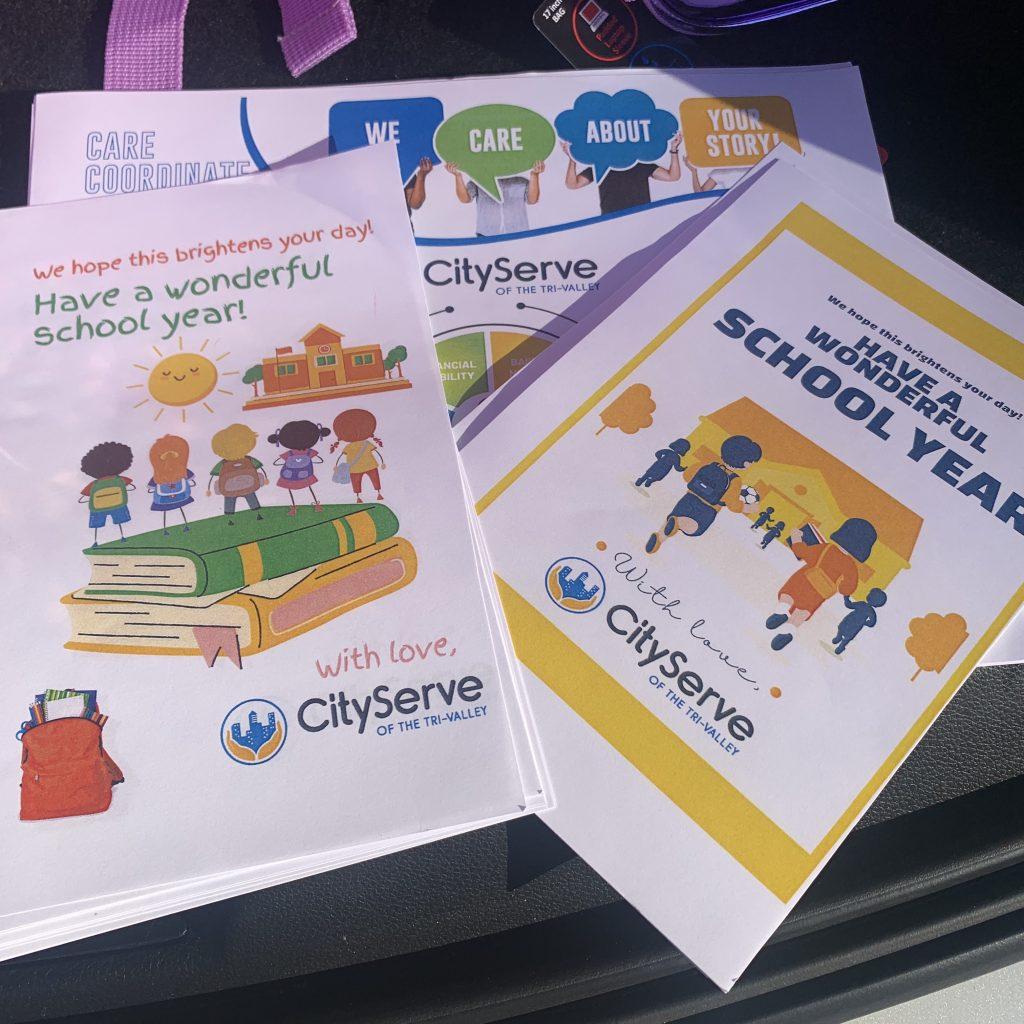 flyers wishing children a good school year